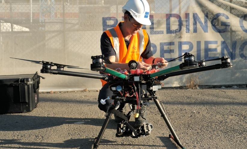 drone surveying for construction projects