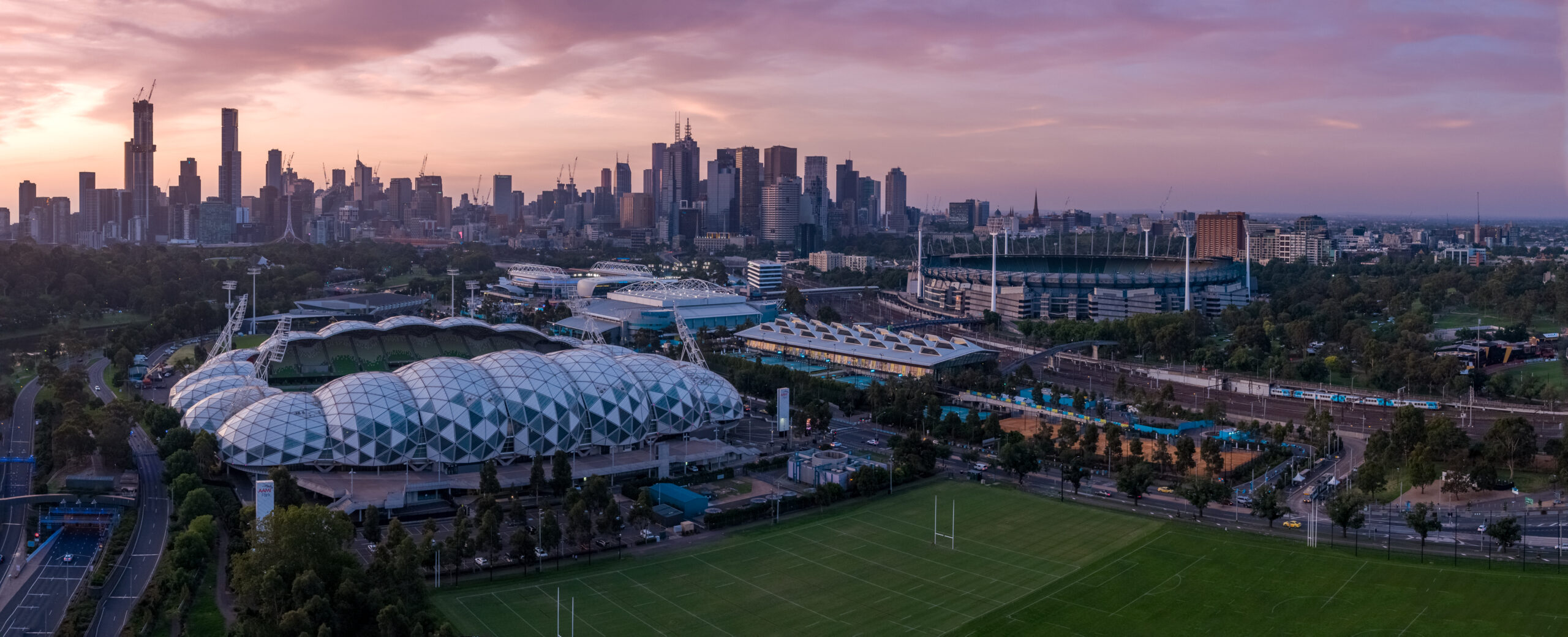 Melbourne Drone Photography Aerial Shot